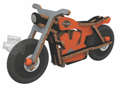 Harley-Davidson® Build and Play Sportster Construction Kit