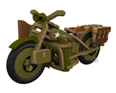 Harley-Davidson® Buildex® Vintage Armed Forces Bike Construction Kit
