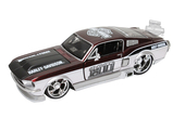 Harley-Davidson® 1967 Ford Mustang GT H-D Deco Graphics Various Model Car 1:24 Scale