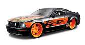 Harley-Davidson® 2006 Ford Mustang GT Eagle Flames with Orange Rims