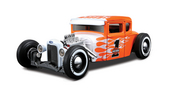 Harley-Davidson® 1929 Ford Model A Orange with White Flames Hot Rod