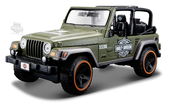 Harley-Davidson® Jeep® Wrangler Rubicon with B&S Orange 1:24 Scale Model Truck 1:24 Scale