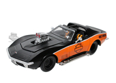 Harley-Davidson® 1970 Corvette® with B&S Logo Black 1:24 Scale Model Car 1:24 Scale