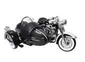 Harley-Davidson® 1958 FLH Duo Glide® Side-Car™ Black 1:18 Scale Model 1:18 Scale