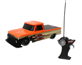 Harley-Davidson® 1964 Chevrolet® C-10 B&S with Flames Orange Radio Control Truck