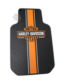 Harley-Davidson® Set of 2 Traditional B&S Front Floor Mats