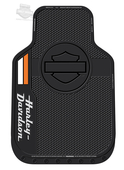 Harley-Davidson® Black H-D Stacked Name with B&S Floor Mat
