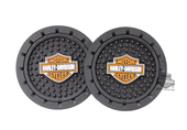 Harley-Davidson® Auto Coaster B&S 2 Pack