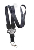 Harley-Davidson® Double Sided PVC B&S Lanyard