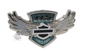 Harley-Davidson® 115th Anniversary Winged B&S Pin