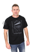 ** SIZE LARGE ONLY ** Harley-Davidson® Mens FB Rumble Fatboy Black Short Sleeve T-Shirt