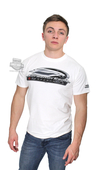 Harley-Davidson® Mens SE Performance Screamin Eagle White Short Sleeve T-Shirt