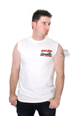 Harley-Davidson® Mens SE Speed Screamin Eagle White Sleeveless Muscle T-Shirt