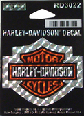 Harley-Davidson® B&S Refractive Small Decal