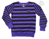 ** BIG GIRLS SIZES ONLY ** Harley-Davidson® Girls Youth Long-Sleeved Purple Jersey Top Kids