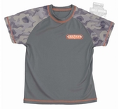 Harley-Davidson® Boys Youth Camo Printed with Rubber Patch Tech Grey Short Sleeve T-Shirt *48HR*