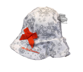 ** 2 for $5 ** Harley-Davidson® Girls Baby Floral Print Sunhat *CIJ*