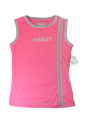 Harley-Davidson® Girls Youth Neon H-D Performance Knit Tank Pink