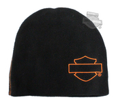 Harley-Davidson® Boys Youth Tech Polar Fleece Performance Black Beanie