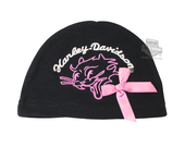 Harley-Davidson® Girls Baby Cat Graphic Interlock Beanie Black *CIJ*