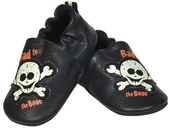 Harley-Davidson® Boys Baby Bad to the Bone Baby Slippers with Box Black *CIJ*