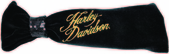 Harley-Davidson® Girls Baby Sequined Knot Velour Black Headband