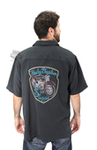 Harley-Davidson® Mens Rally Time Sturgis Motorcycle Black Short Sleeve Woven Shirt by Tori Richard®