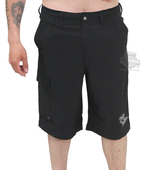 Harley-Davidson® Mens Atlantic H-D Name Cargo Land to Water Black Shorts by Tori Richard®