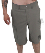 Harley-Davidson® Mens Atlantic H-D Name Cargo Land to Water Grey Shorts by Tori Richard®