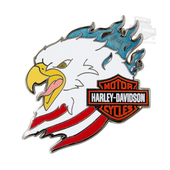 Harley-Davidson® Eagle Head Pin