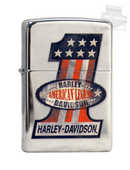 Harley-Davidson® #1 Red White Blue Zippo Lighter