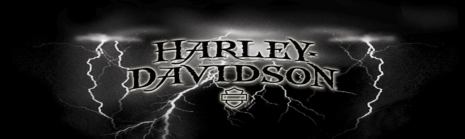 HarleyDavidson Rear Window Graphic Decal Lightning - Harley davidson custom vinyl stickers