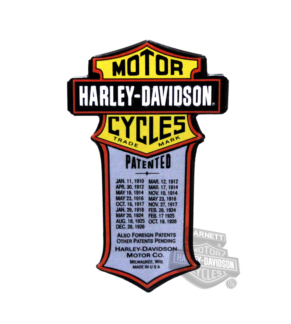 Harley-Davidson® Magnet Patented Die Cut/Emb