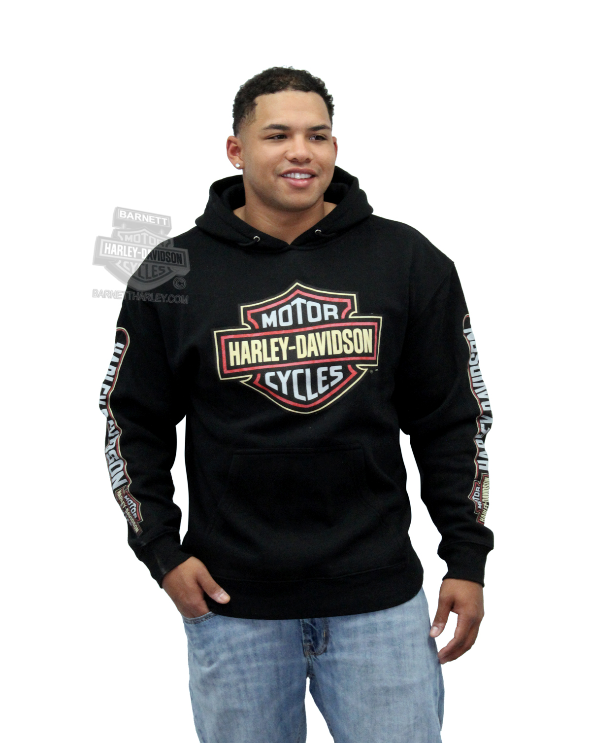 harley davidson mens lane changer b s fleece pullover. Black Bedroom Furniture Sets. Home Design Ideas