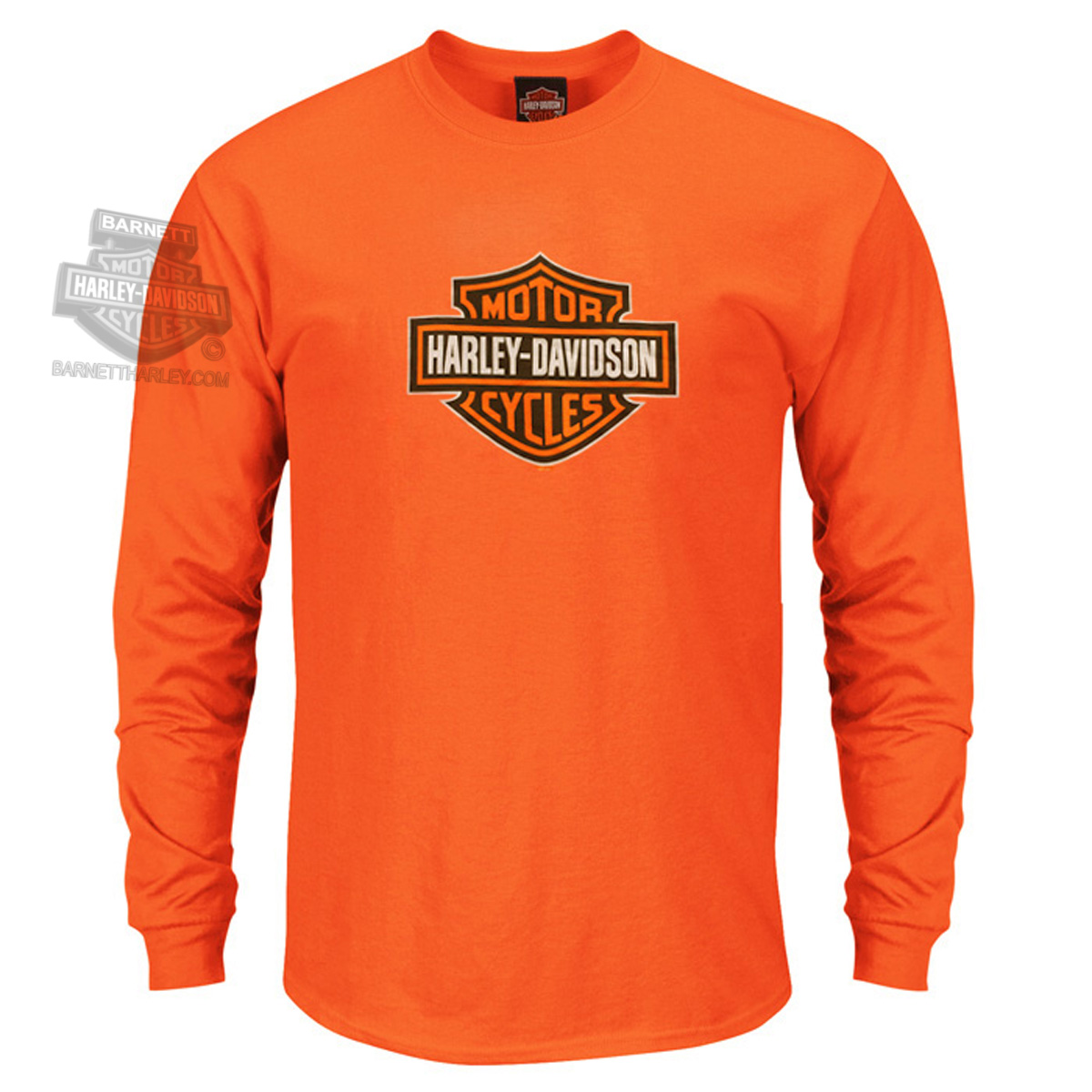 5586V588 - Harley-Davidson® Mens League Legend Safety Orange Long ...