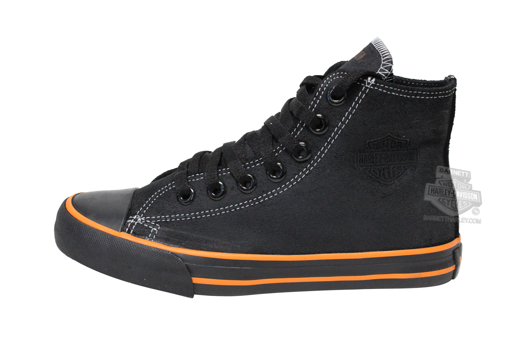 83196 harley davidson 174 womens flora black leather casual