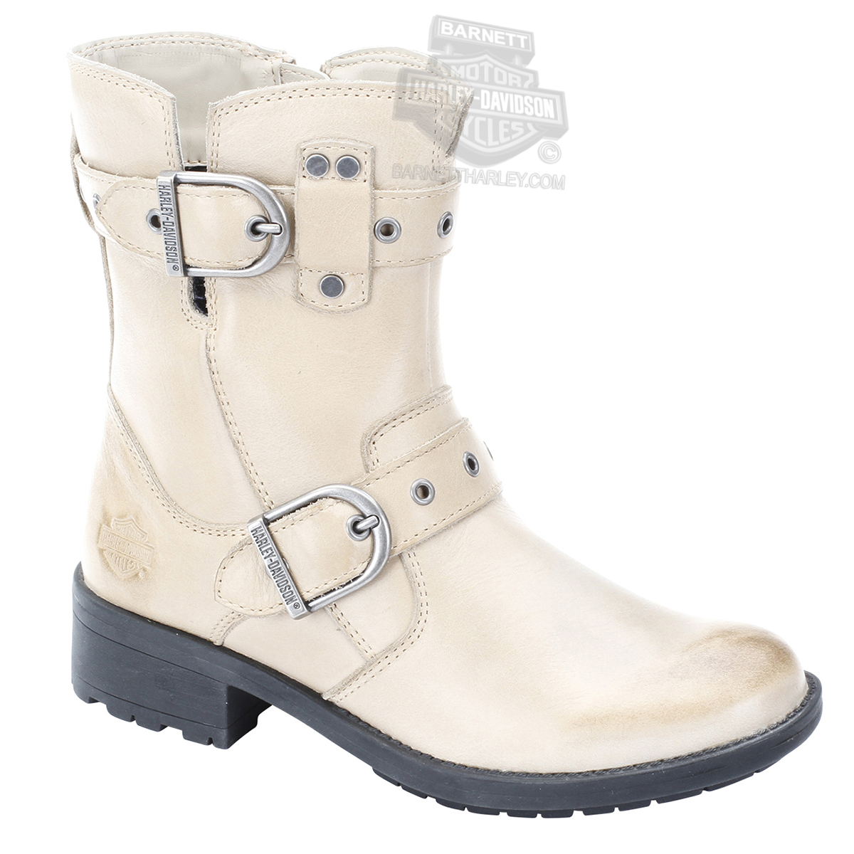 ... Harley-Davidson® Womens Grace Tan Leather Mid Cut Boot. Hover to zoom