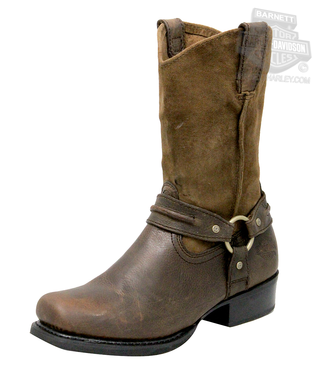 Rubber floor mats for sale - 93154 Harley Davidson 174 Mens Stan Brown High Cut Riding Boot