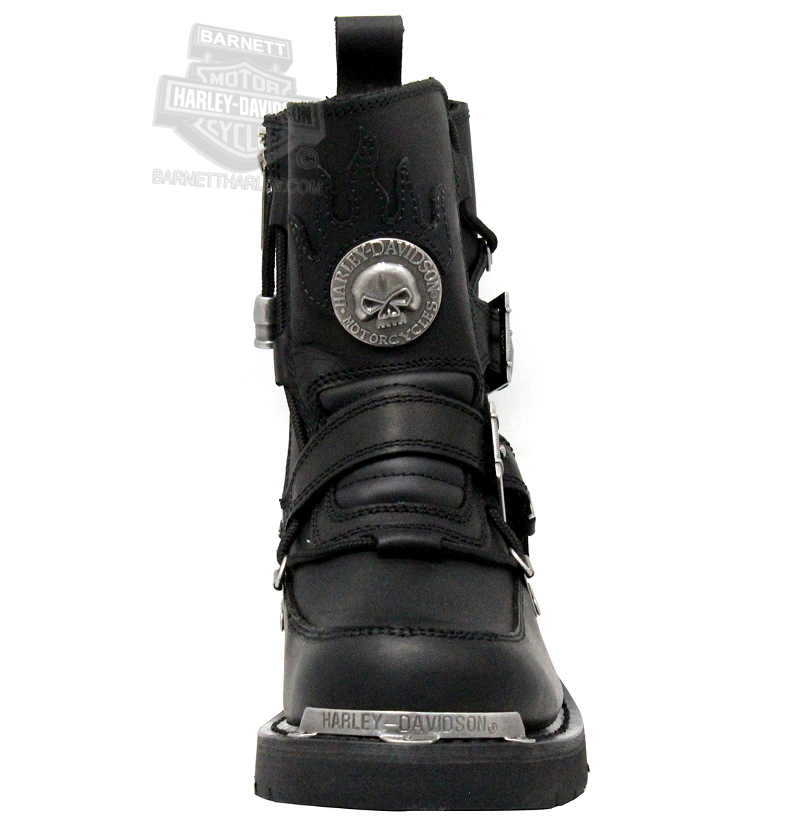 d48eac9c97dd7f 94167 - Harley-Davidson® Mens Distortion Black Mid Cut Riding Boot ...