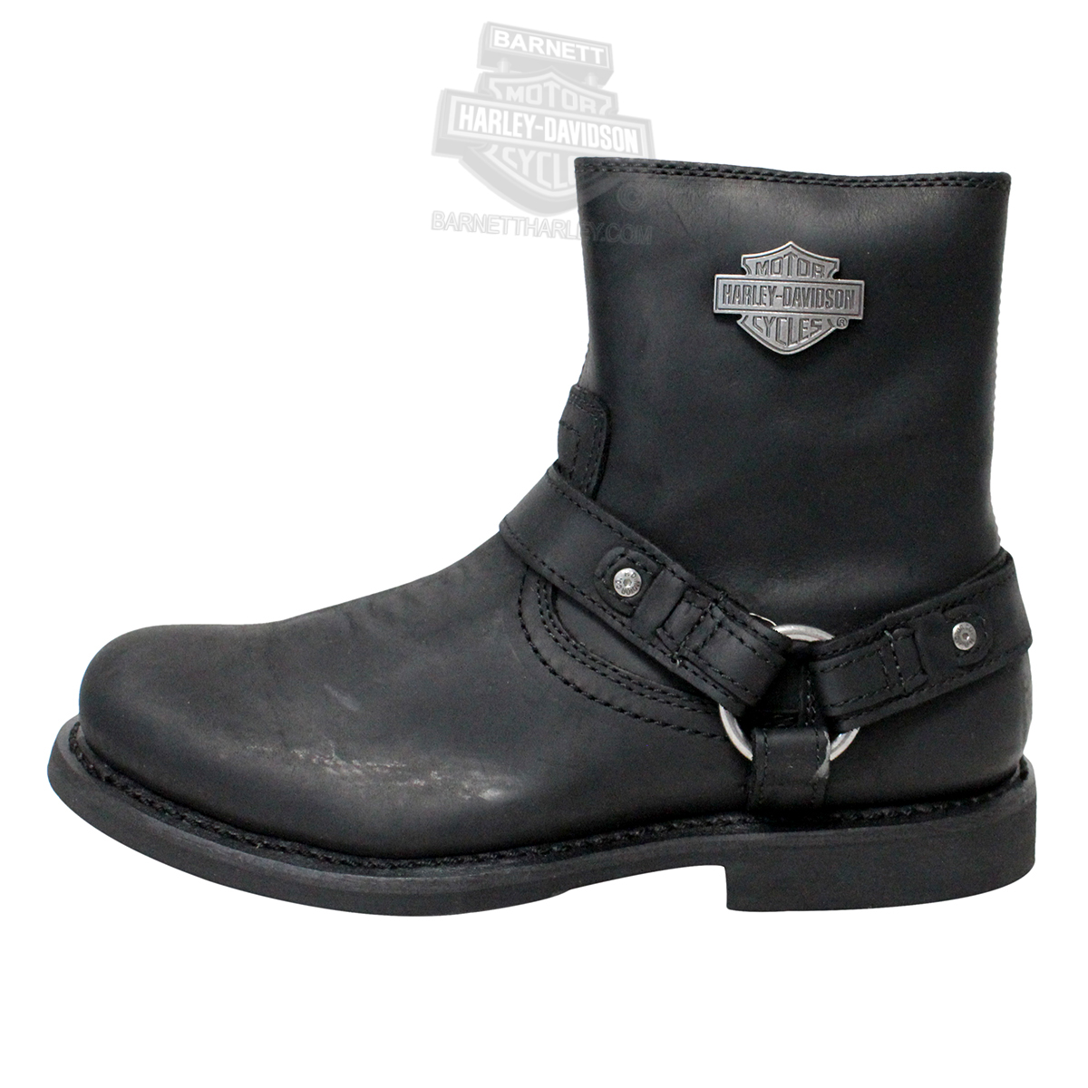 c91af9e236bb 95262 - Harley-Davidson® Mens Scout Black Low Cut Boot - Barnett ...