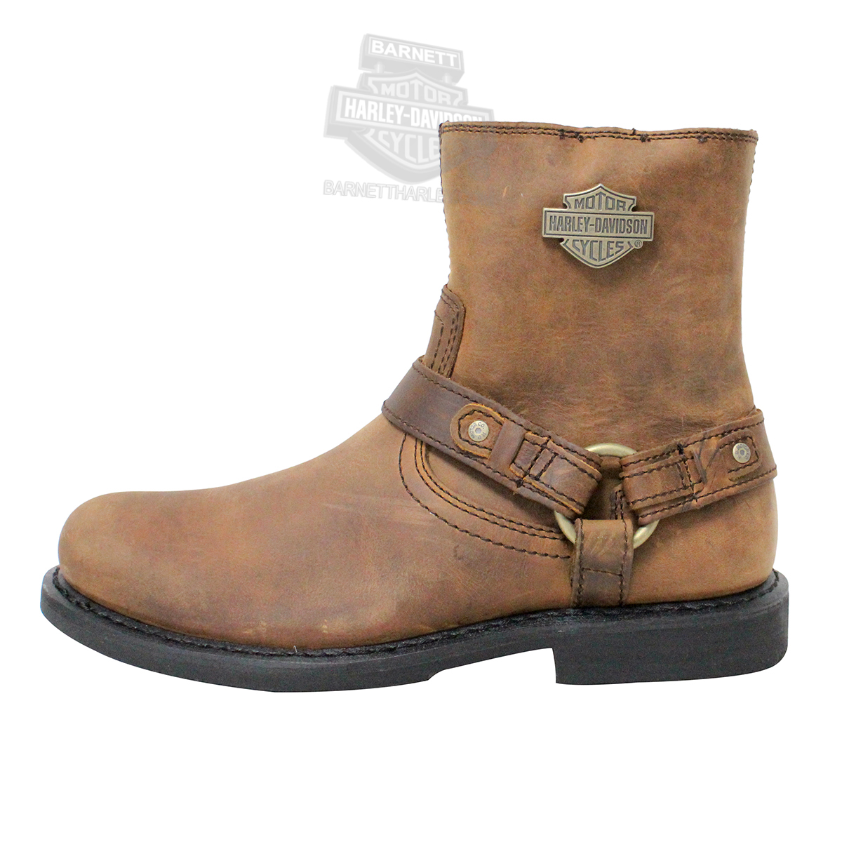 95263 harley davidson 174 mens scout brown low cut boot