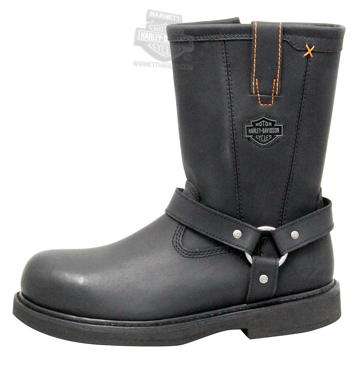 95328 harley davidson 174 mens bill steel toe black mid cut