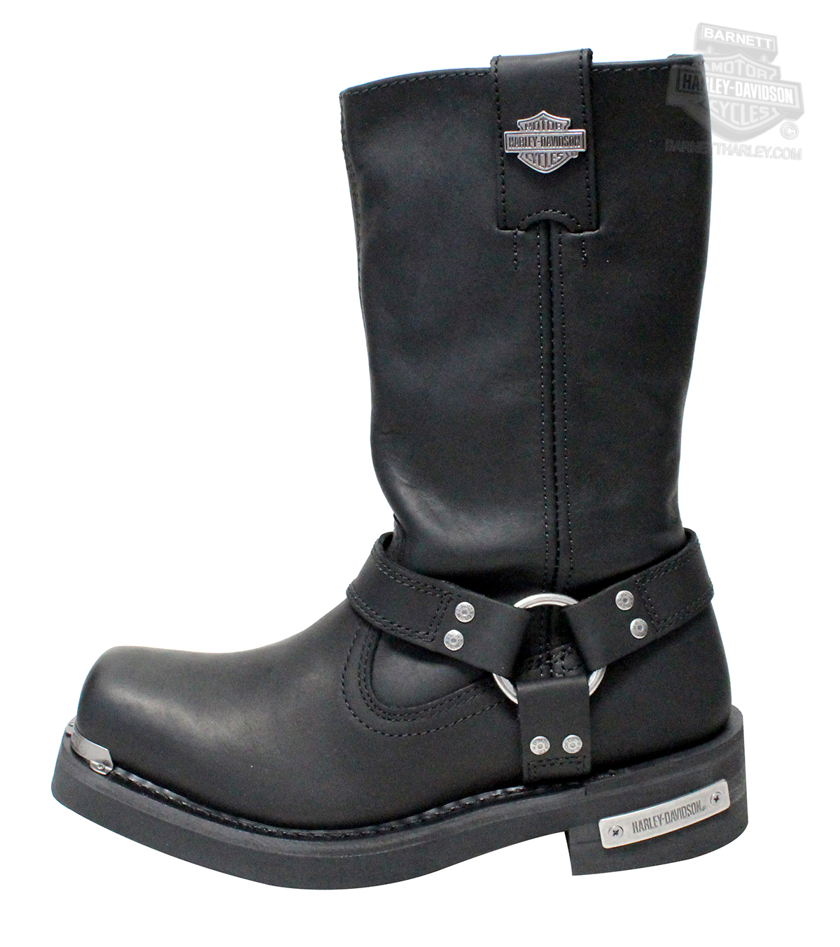 0466bcd11b5913 ... Harley-Davidson® Mens Landon Black Leather High Cut Boot - H-D® Dealer  Exclusive. Tap to expand