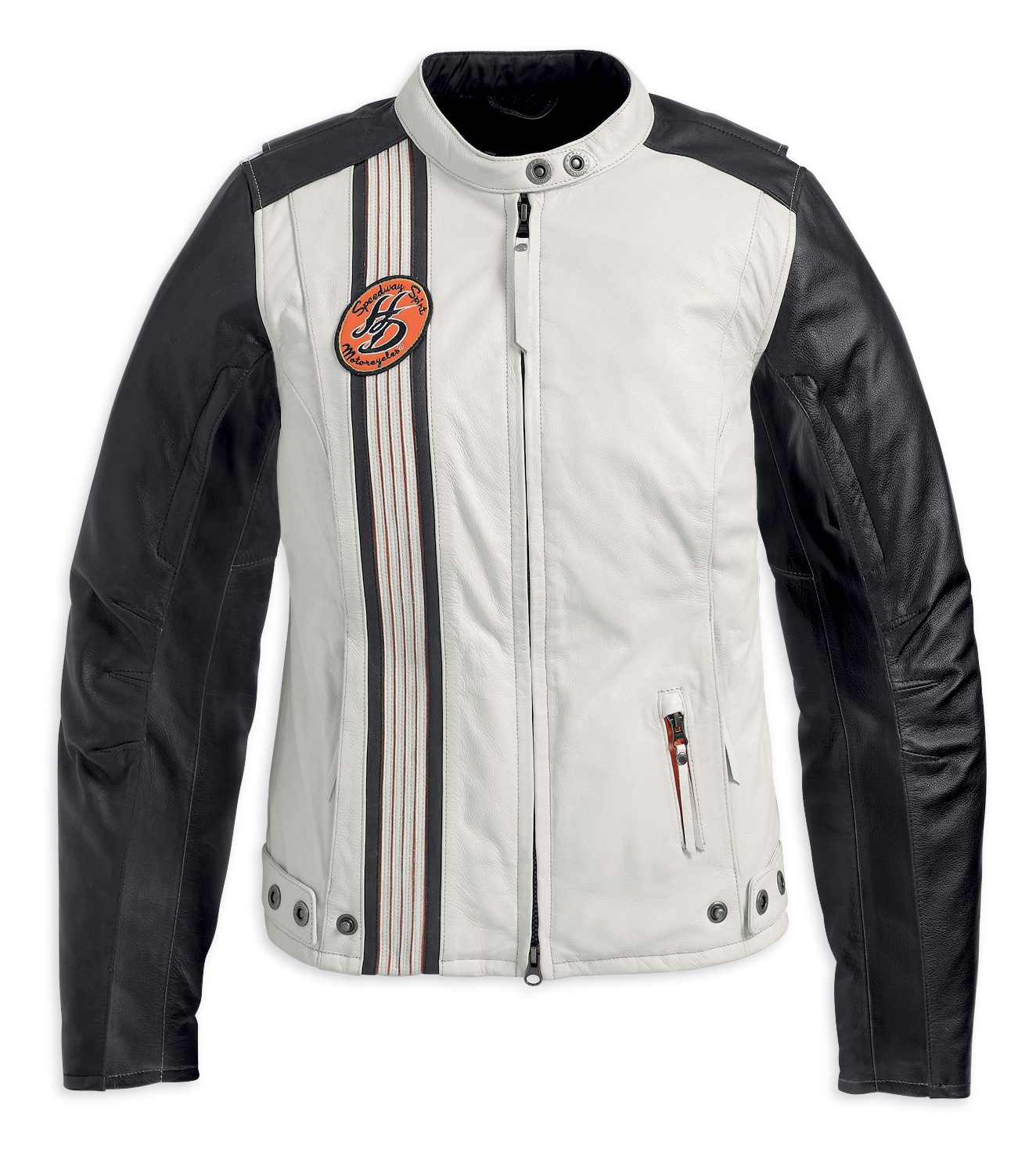 Harley-Davidson^ Womens Chase Lightweight Waterproof White Leather