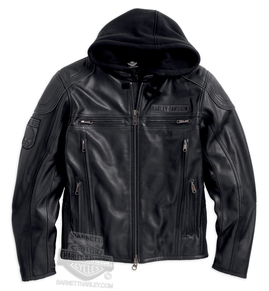 14VM - Harley-Davidson® Mens Troy 3-in1 Reflective with Willie G