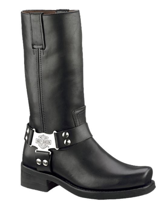 Harley Davidson Riding Boots on Construction Toys Models
