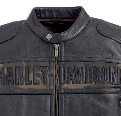 Harley Davidson Camo Leather Jacket Cheap Online