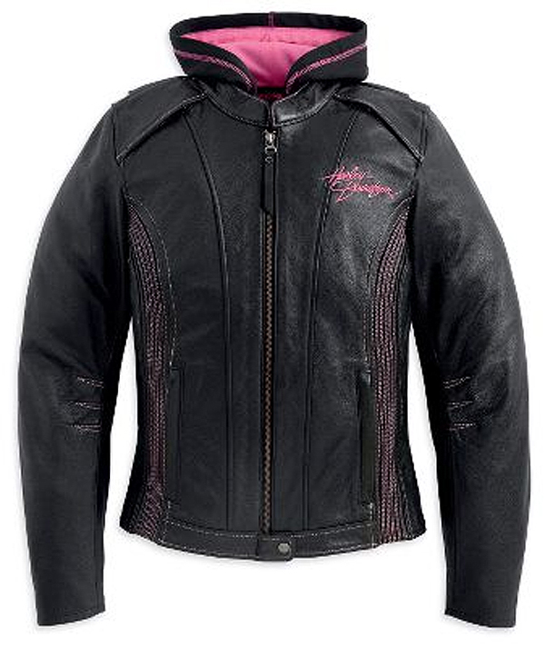 98031-12VW - Harley-Davidson® Womens Pink Label 3-In-1 Black ...