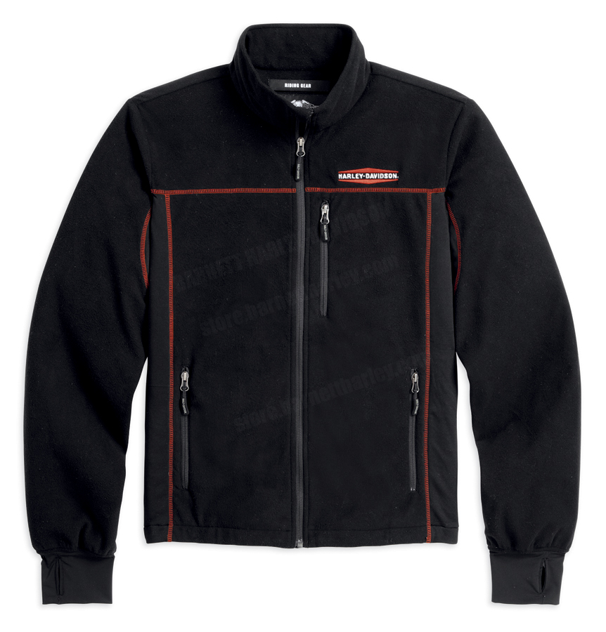 Flannel Motorcycle Jacket >> 98237-13VM - Harley-Davidson® Mens Mid-Layers Windproof ...