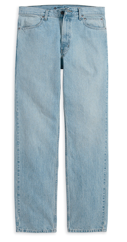 Faded Blue Jeans Mens Faded Denim Original